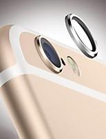 posteriore dell'obiettivo vetro metallo fotocamera protettivo anello hoop caso della copertura di protezione del cerchio della protezione per iPhone 6