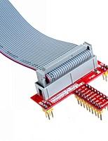 26 pinos cabo de dados especificados e t expansão GPIO acessório bordo para Raspberry Pi b +