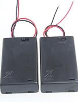 3 packs standards avec la boîte de la batterie de commutation pour piles AA 4.5V