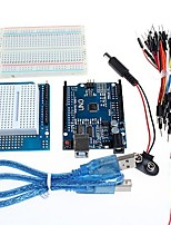 UNO + Prototype Expansion Board and Breadboard for Arduino