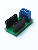 câble métallique module terminal conjonctif pour Arduino - bleu + noir