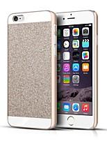Недорогие -Кейс для Назначение Apple iPhone 6 Plus / iPhone 6 Кейс на заднюю панель Сияние и блеск Твердый Металл для iPhone 6s Plus / iPhone 6s / iPhone 6 Plus