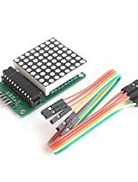 MAX7219 matricielle 8 * 8 en série interfacé huit chiffres a conduit pilote d'affichage pour Arduino
