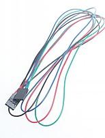 70cm femme 4 broches - ligne de dupont de câble de raccordement femelle pour Arduino