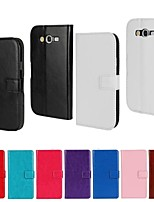 cheap -Solid Color PU Leather Full Body Wallet Protective Case with Stand for Samsung Galaxy Grand Neo I9060