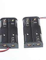 2 пачки 5 коробка Батарея коробка для батареек АА 3V (2шт)