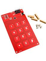 MPR121 contact bouclier 12 touches 12 canaux 5v 3.3v pour Arduino 51 Code