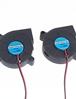 5Cm Blower / Humidifier Centrifugal Fan - Black Color (2Pcs)