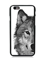 baratos -Capinha Para Apple iPhone 6 iPhone 6 Plus Estampada Capa traseira Animal Rígida PC para iPhone 6s Plus iPhone 6s iPhone 6 Plus iPhone 6