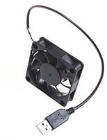 Châssis de l'ordinateur 6cm refroidissement 5v de ventilateur