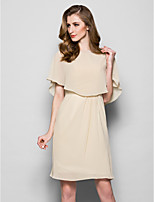 cheap -Sleeveless Capelets Chiffon Wedding / Party Evening Women's Wrap With Draping