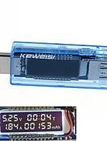 capacidade de energia medidor de tensão usb do testador de capacidade da bateria