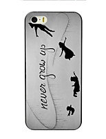 abordables -Para iPhone 8 iPhone 8 Plus iPhone 7 iPhone 7 Plus iPhone 6 iPhone 6 Plus Funda iPhone 5 Carcasa Funda Diseños Cubierta Trasera Funda