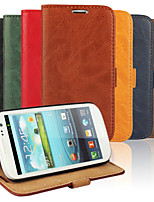 cheap -Bark Grain PU Leather Full Body Cover with Stand and Case for Samsung Galaxy S3 I9300