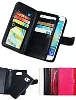 High-Grade Genuine Leather Mobile Phone Holster Full Body Case Shatter-Resistant Case for Samsung Galaxy S6 edge