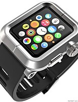 abordables -Bracelet de Montre  pour Apple Watch Series 3 / 2 / 1 Apple Sangle de Poignet Bracelet Sport Silikon