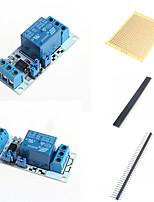 1 moyens relais module avec optocoupleur et accessoires