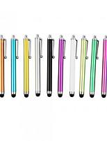 kinston® 12 x clip della penna universale successo in metallo stilo touch screen per iPhone / iPad / Samsung e altri