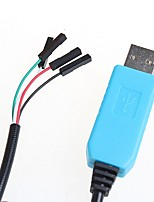 The New PL2303 TA Download Cable USB to TTL RS232 Module Upgrade Module USB to Serial Download Cable