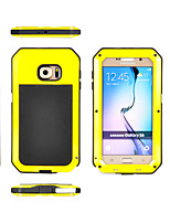 Per Samsung Galaxy Custodia Acqua / Dirt / Shock Proof Custodia Integrale Custodia Armaturato Metallo Samsung S6