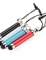 kinston® 4 x optrækkelige kapacitiv touch pen med anti-dusk øretelefon stik til iPhone / iPad / Samsung og andre