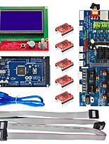 The 3D Control Board (3D1.57 Board +2560 r3+3D12864+5 Suite 4988)