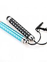 kinston® 2 x retrattile penna capacitiva di tocco con presa per cuffie diamante anti-tramonto per iphone / ipad / Samsung e altri