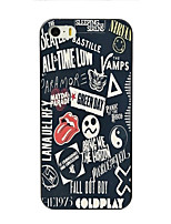 Para Funda iPhone 7 / Funda iPhone 7 Plus / Funda iPhone 6 / Funda iPhone 6 Plus / Funda iPhone 5 Diseños Funda Cubierta Trasera Funda