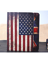 cheap -Case For iPad Air Folio Case Mixed Color Special Design National Flag Leather PU Leather for