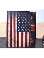 economico -Custodia Per iPad Air caso Folio Vari colori Design Bandiera Di pelle pelle sintetica per