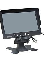 abordables -Moniteur vidéo couleur lcd / deux voies d'entrée de 7 pouces, entrée audio à une voie