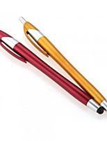 kinston® 2 x 2in1 touch screen capacitivo stilo a sfera con penna a sfera per il iphone / ipod / ipad / Samsung e altri