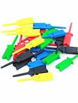 Test pc diy clip / clamp set - multicolore (5x 5pcs)