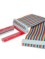 Raspberry Pie 3 GPIO Extended DIY Kit (40P +GPIO V2 Rainbow Line)