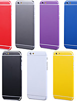 cheap -Full Body Side+Top+Back+Button Pure Color Skin Sticker for iPhone 6 Plus(Assorted Colors)