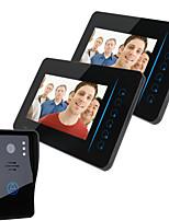 One to One interphone vidéo (7 , Photographié) Sans fil - Système Mains-Libres