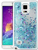 cheap -High Quality Quicksand Star Glitter PC Hard Case for Samsung Galaxy Note 4