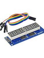 8 Bit Digital Tube Module LED Shows Eight Bit Parallel 595 Drive Send DuPont Line
