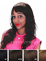cheap -Human Hair Lace Front Wig Loose Wave 100% Hand Tied African American Wig Natural Hairline Short Medium Long 130% Density Women's