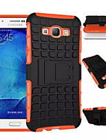 TPU+PC Heavy Duty Armor Stand Case Protective Skin Double Color Shock Prooffor For Samsung Galaxy A8/A7/A5/A3 2015