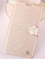 Pour Samsung Galaxy Note7 Porte Carte / Strass / Avec Support / Clapet Coque Coque Intégrale Coque Brillant Cuir PU SamsungNote 7 / Note