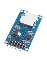 for Arduino Micro SD Card Module TF Card Reader Card Reader SPI Interfaces with Level Converter Chip