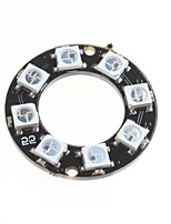 WS2812 5050 RGB LED Intelligent Full-Color RGB Light Ring Development Board