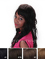 cheap -Human Hair Lace Front Wig Loose Wave 130% Density 100% Hand Tied African American Wig Natural Hairline Short Medium Long Women's Human