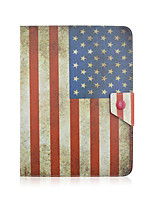 cheap -SZKINSTON American Flag Case Cover Shockproof with Stand Sleep Magnetic Pattern Full Body PU Leather For All 9.5 - 10.5 Inch Mobile Phone or Tablet