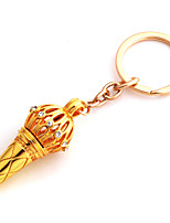 Vilam® India Movie Bajrangi Bhaijaan Salman Khan Silver Gold Rhinestone Alloy Microphone Keychain