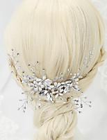 Alloy/Imitation Pearl/Rhinestone Headbands Wedding/Party 1set