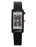 Недорогие -Жен. Модные часы Кварцевый силиконовый Черный / Белый / Синий Аналоговый Синий Розовый Радужный