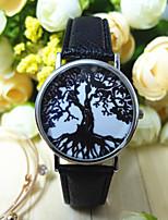 Недорогие -Жен. Модные часы Кварцевый Аналоговый Черный Бежевый Серый