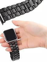 preiswerte -Uhrenarmband für Apple Watch Series 3 / 2 / 1 Apple Handschlaufe Schmetterling Schnalle Edelstahl